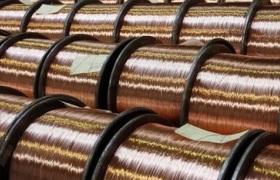Stahldraht verkupfert